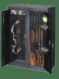 Stack-On Buck Commander Double Door Gun & Bow Cabinet ...