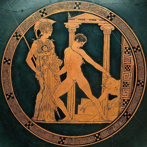 Resultado de imagen de imagen de teseo y el minotauro