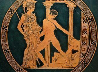 teseo y el minotauro mito