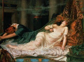 cleopatra muerte