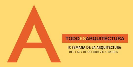 IX Semana de la Arquitectura de Madrid