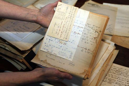 Cartas de internados japoneses encontrados en una farmacia