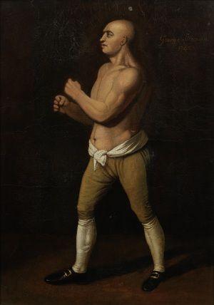 """George Stevenson """"El cochero"""", cuya muerte en el ring modificó la historia del boxeo"""