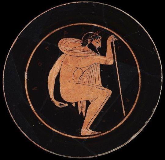 Pintura de la Grecia arcaica (entre 550 y 500 a.C.)