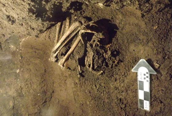 esqueletos centro mexico