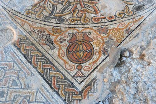 mosaico bizantino israel