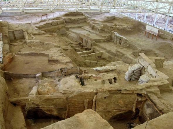 excavaciones en catalhoyuk