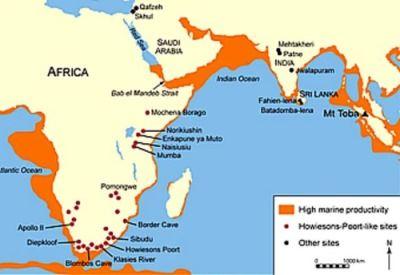 colonizacion prehistoria desde asia
