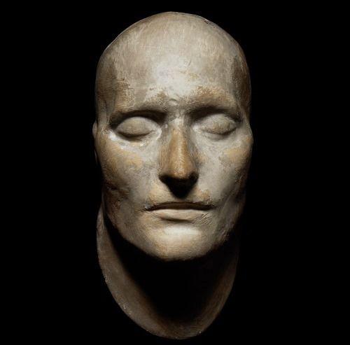 mascara mortuoria de napoleon
