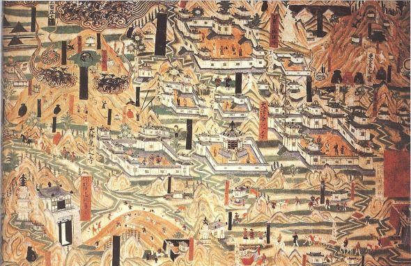 pinturas cueva de mogao en china