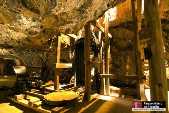 pozos parque minero almaden