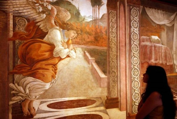 La anunciación de San Martino alla Scala