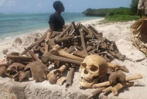 esqueletos esclavos en kenia