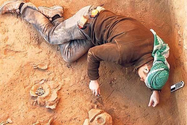 excavaciones gallegas en asiria
