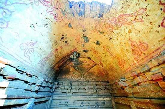 grabados tumbas dinastia song china