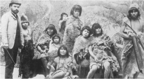 indigenas americanos en paris