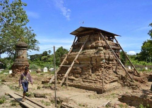monasterio antiguo birmania
