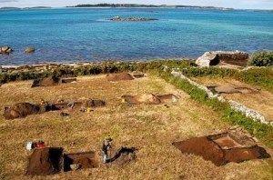 yacimiento islas sorlingas gran bretaña
