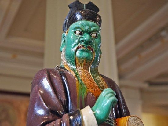 figura de gres dinastia ming