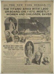 niña desaparecida titanic