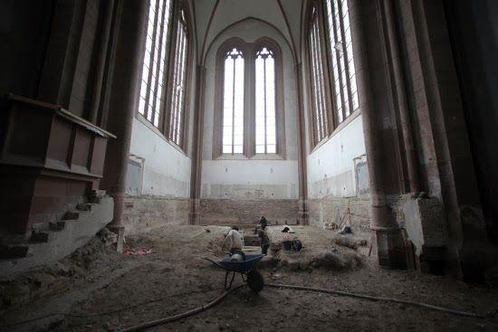 excavaciones catedral alemana