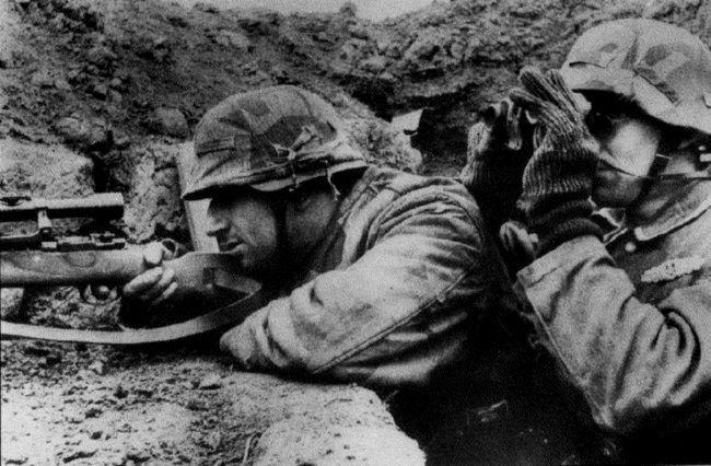 La Segunda Guerra dejó graves consecuencias en quienes la vivieron.