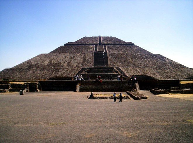 piramide de sol Teotihuacán