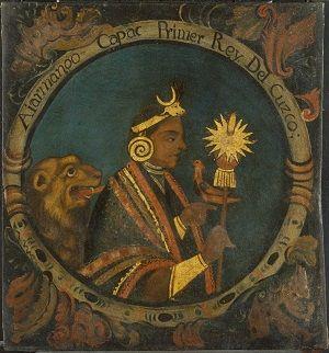 Retrato de Manco Capac en el Museo de Blooklyn
