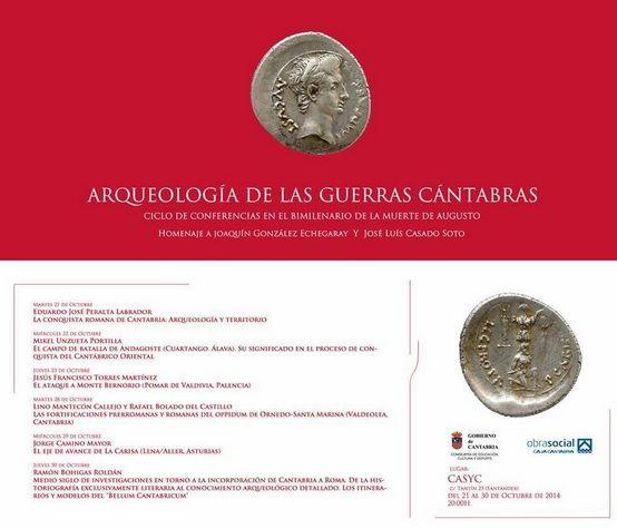 """""""Arqueología de las Guerras Cántabras"""", del 21 al 30 de octubre en Santander"""