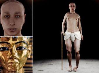 tutankamon como era