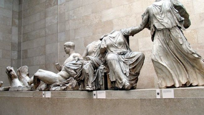 Esculturas del Partenón en el British Museum