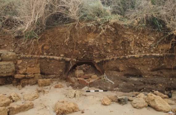 Una tormenta dejó al descubierto varios objetos bizantinos en Israel.