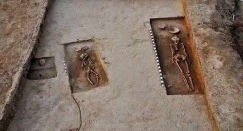 Esqueletos de la era Harappa descubiertos en India