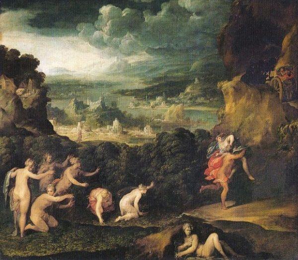 El Rapto de Proserpina, de Niccolò dell'Abbate.