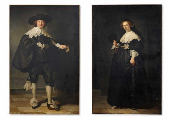 Retratos del matrimonio Soolsmans que se expondrán en Holanda y Francia
