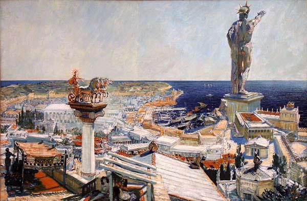 Hoteleros buscan reconstruir el Coloso de Rodas. Crédito: Wikimedia.