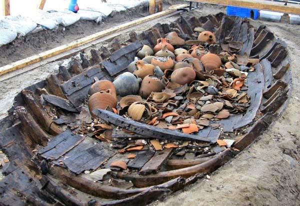 Descubiertos 37 naufragios bizantinos en Estambul. Crédito: Universidad de Estambul.