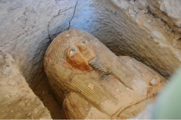Tumba de un sacerdote de Amón-Ra hallado en Luxor.