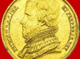 moneda de pedro ii