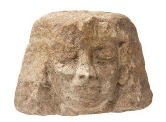 cabeza egipcia