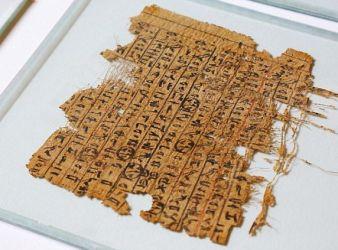 papiro construccion piramide de guiza