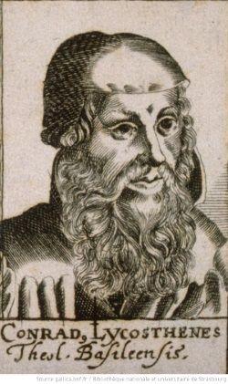 retrato conrad lycosthenes