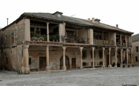 soportales plaza mayor pedraza