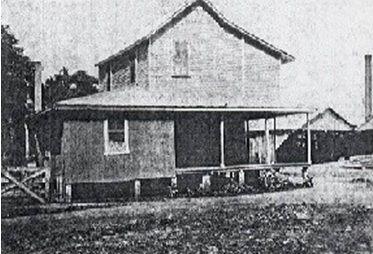 casa biplanta pilares madera