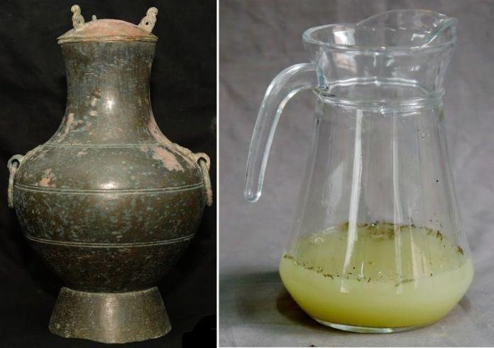 licor de 2000 años