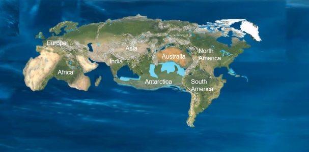 supercontinente novopangea