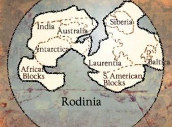 supercontinente rodinia