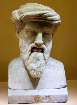 busto de pitagoras