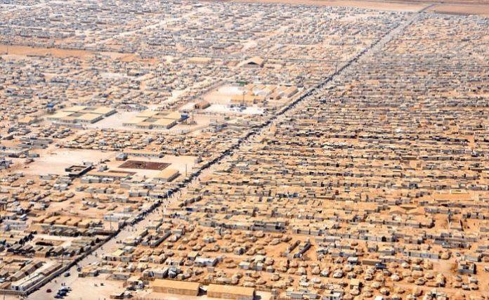 campo refugiados jordania