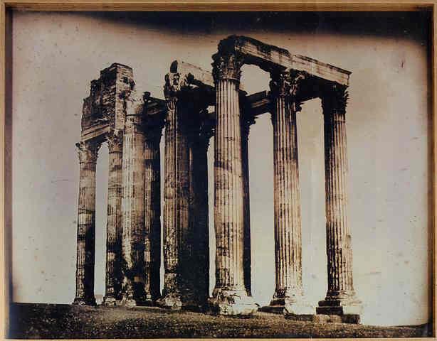 templo jupiter atenas daguerrotipo